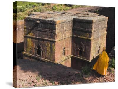 Rock-Hewn Church of Bet Giyorgis, Lalibela, Ethiopia-Jane Sweeney-Stretched Canvas Print