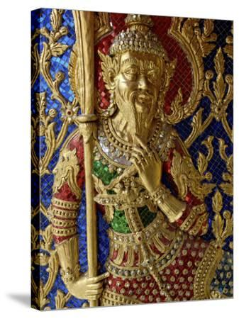 Wat Ratchabophit, Bangkok, Thailand, Southeast Asia-De Mann Jean-Pierre-Stretched Canvas Print