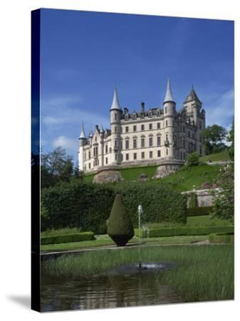 Dunrobin Castle, Sutherland, Scotland, United Kingdom, Europe--Stretched Canvas Print