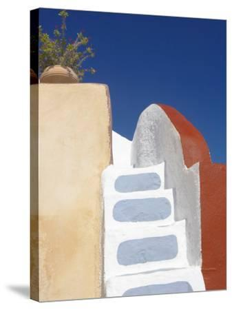 Imerovigli, Santorini, Cyclades, Greek Islands, Greece, Europe-Papadopoulos Sakis-Stretched Canvas Print