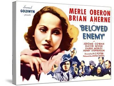 Beloved Enemy, 1936--Stretched Canvas Print