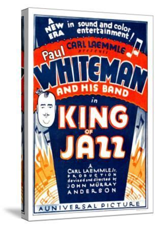 King of Jazz, 1930--Stretched Canvas Print