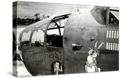 Nose Art, Thumper--Stretched Canvas Print