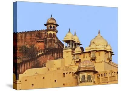 Amber Fort, Jaipur, India-Adam Jones-Stretched Canvas Print