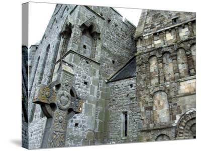 Historic Spot Where St. Patrick Preached, Rock of Cashel, Ireland-Cindy Miller Hopkins-Stretched Canvas Print