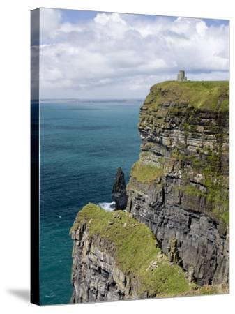 Cliffs, County Clare, Ireland-William Sutton-Stretched Canvas Print