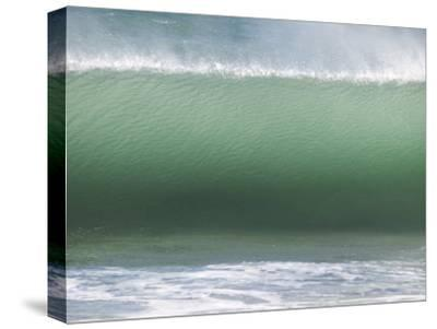 Huge Wave Rolls to Shore-Stacy Gold-Stretched Canvas Print