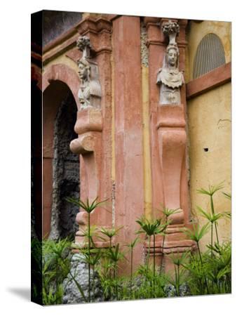 Outdoor Architectural Detail in the Moorish-Built Alcazar-Scott Warren-Stretched Canvas Print
