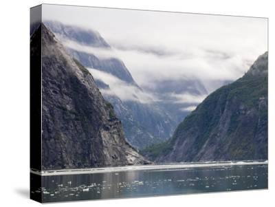 Fog Shrouded Fjords of Tracy Arm-Rich Reid-Stretched Canvas Print