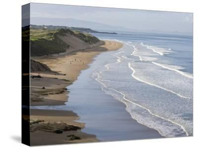Whiterocks Beach from Dunluce Road Near the Seaside Town of Portrush-Rich Reid-Stretched Canvas Print