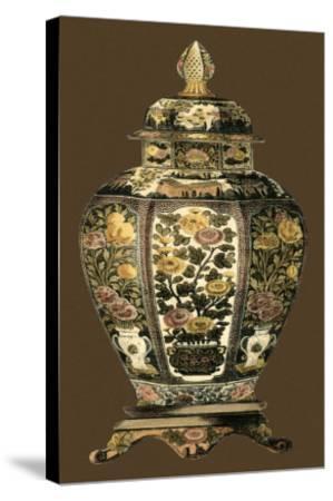 Amber Porcelain II--Stretched Canvas Print