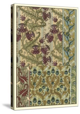 Garden Tapestry IV-Eugene Grasset-Stretched Canvas Print
