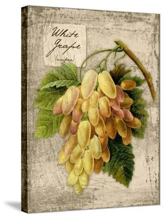 White Grapes-Kate Ward Thacker-Stretched Canvas Print