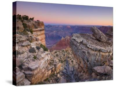 Arizona, Grand Canyon, from Lipan Point, USA-Alan Copson-Stretched Canvas Print