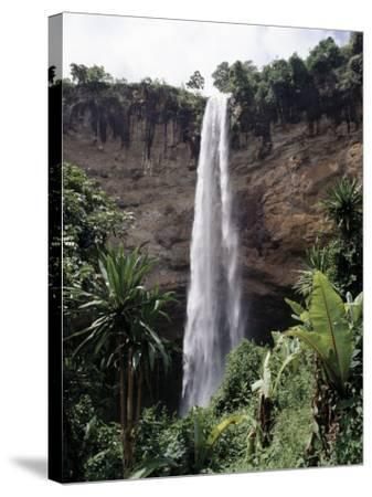 Situated in the Fertile Foothills of Mount Elgon, Sipi Falls Is Small But Beautiful-Nigel Pavitt-Stretched Canvas Print