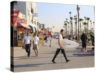 Venice Beach, Los Angeles, California, United States of America, North America-Wendy Connett-Stretched Canvas Print