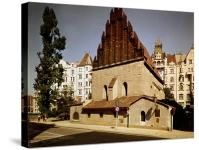 Oldest Synagogue in Europe, built 1270, Prague, Czech Republic--Stretched Canvas Print