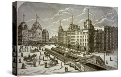 The Grand Union Hotel, New York City--Stretched Canvas Print