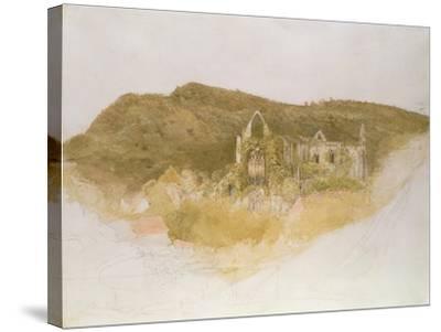 Tintern Abbey-Samuel Palmer-Stretched Canvas Print