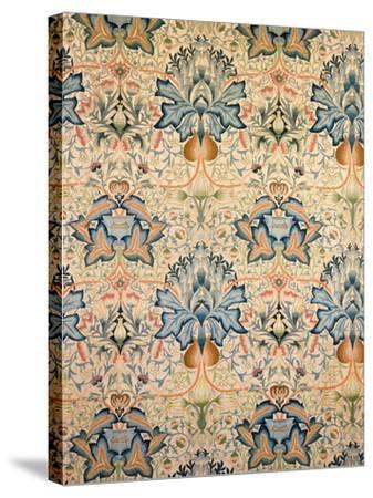 The Artichoke Embroidered Hanging, Worked by Mrs Godman, 1877-William Morris-Stretched Canvas Print