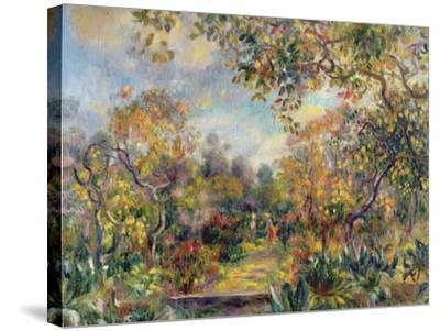 Landscape at Beaulieu, c.1893-Pierre-Auguste Renoir-Stretched Canvas Print
