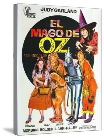 The Wizard of Oz, Spanish Movie Poster, 1939--Stretched Canvas Print