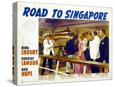 Road to Singapore, 1940--Stretched Canvas Print