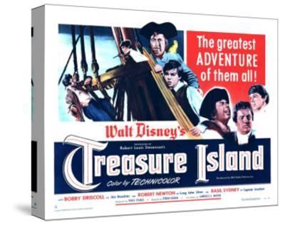 Treasure Island, 1950--Stretched Canvas Print