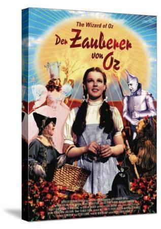The Wizard of Oz, German Movie Poster, 1939--Stretched Canvas Print