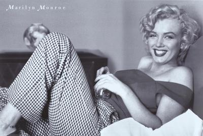 Monroe, Marilyn, 9999--Stretched Canvas Print