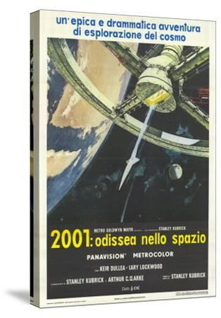 2001: A Space Odyssey, Italian Movie Poster, 1968--Stretched Canvas Print