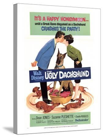 The Ugly Dachshund, 1966--Stretched Canvas Print