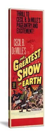 The Greatest Show on Earth, 1967--Stretched Canvas Print