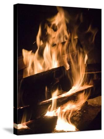 Fire and Wood-Daniel Root-Stretched Canvas Print