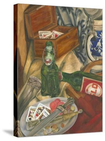 Beer Indulgences I-Jennifer Goldberger-Stretched Canvas Print