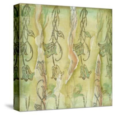 Floral Whimsey II-Jennifer Goldberger-Stretched Canvas Print