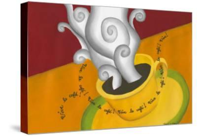 Vive le Cafe!-Renee W^ Stramel-Stretched Canvas Print