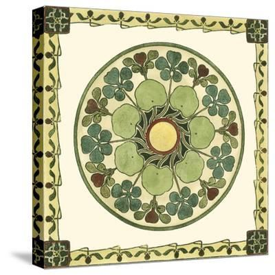 Arts and Crafts Plate II-Vision Studio-Stretched Canvas Print