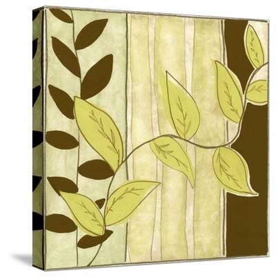 Patchwork Garden III-Jennifer Goldberger-Stretched Canvas Print