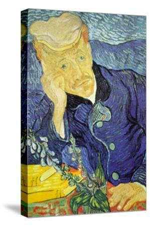 Dr. Paul Gachet-Vincent van Gogh-Stretched Canvas Print