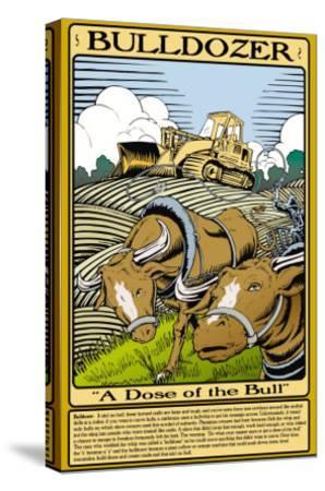 Bulldozer-Wilbur Pierce-Stretched Canvas Print