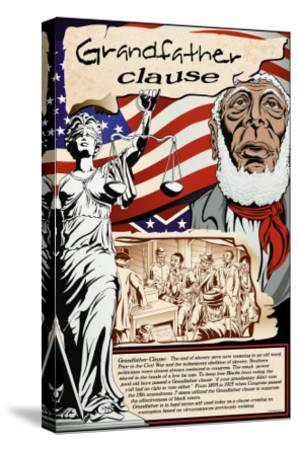 Grandfather Clause-Wilbur Pierce-Stretched Canvas Print