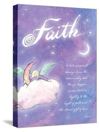 Light of Faith-Flavia Weedn-Stretched Canvas Print