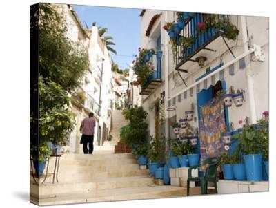Casco Antiguo, Santa Cruz Quarter, Alicante, Valencia Province, Spain, Europe-Guy Thouvenin-Stretched Canvas Print