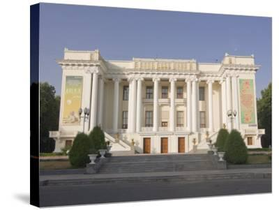 Magnificent Opera, Dushanbe, Tajikistan, Central Asia-Michael Runkel-Stretched Canvas Print