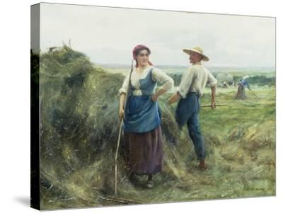 The Reapers-Julien Dupre-Stretched Canvas Print