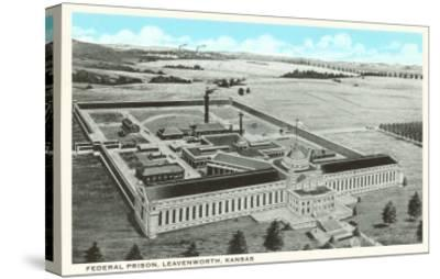 Federal Prison, Leavenworth, Kansas--Stretched Canvas Print