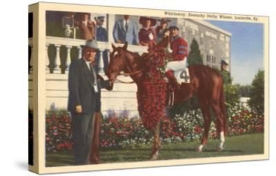 Whirlaway, Kentucky Derby Winner--Stretched Canvas Print