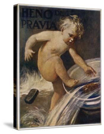 Heno De Pravia Soap--Stretched Canvas Print