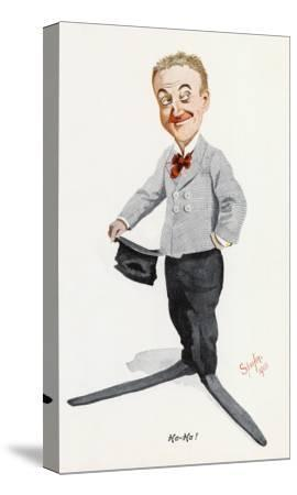 Little Tich (Harry Relph) Music Hall Entertainer--Stretched Canvas Print